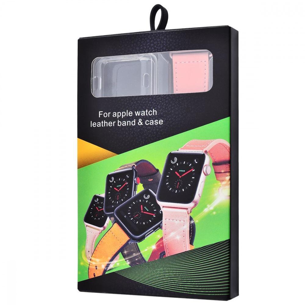Ремешок Apple Watch Colourful Leather 38 mm/40 mm - фото 1