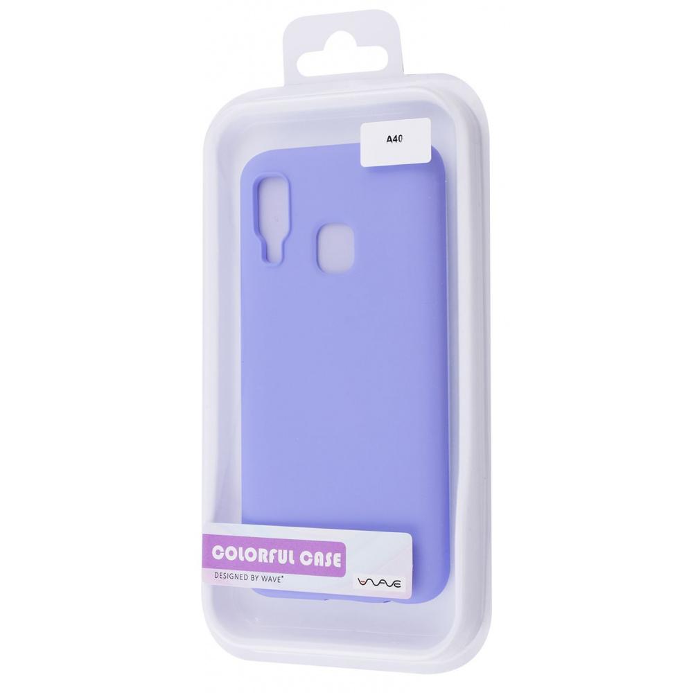WAVE Colorful Case (TPU) Samsung Galaxy A40 (A405F)