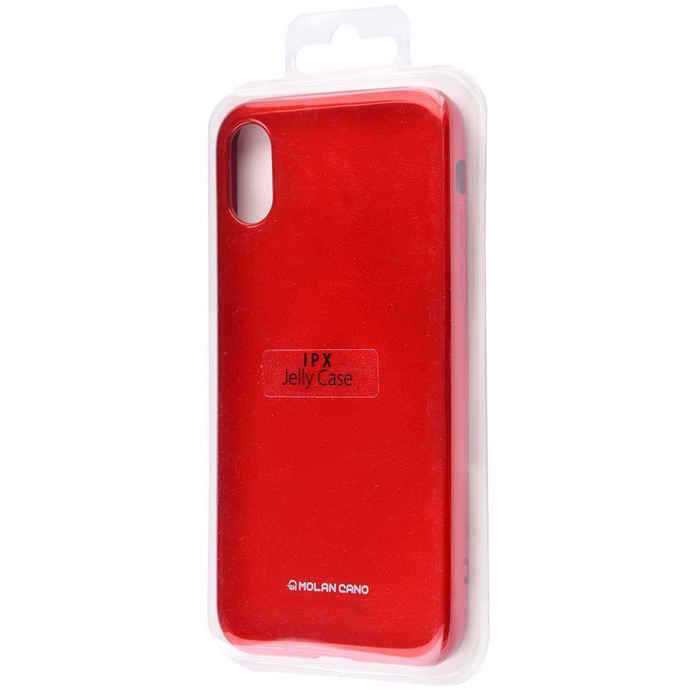 Molan Cano Glossy Jelly Case iPhone X/Xs - фото 1