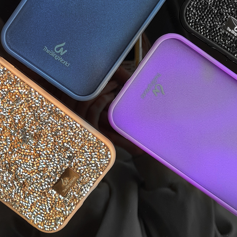 Bling World Grainy Diamonds (TPU) iPhone X/Xs - фото 5