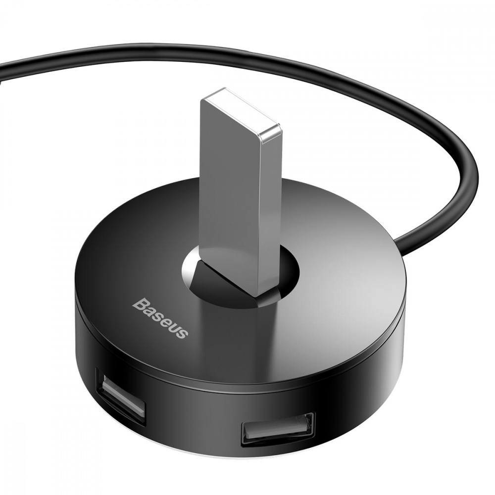 USB-Хаб Baseus Round Box USB to USB 3.0 + 3USB 2.0 (1m) - фото 3
