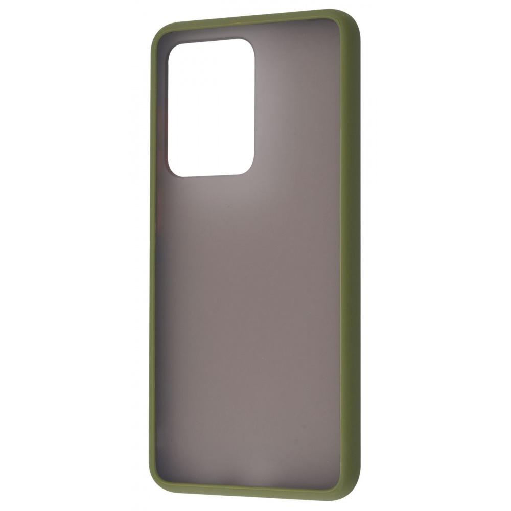 Matte Color Case (TPU) Samsung Galaxy S20 Ultra (G988B) - фото 2