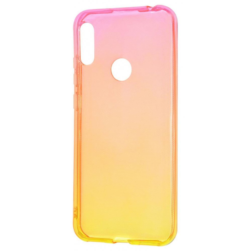 Силикон 0.5 mm Gradient Design Huawei Y6s/Y6 2019/Honor 8A - фото 13
