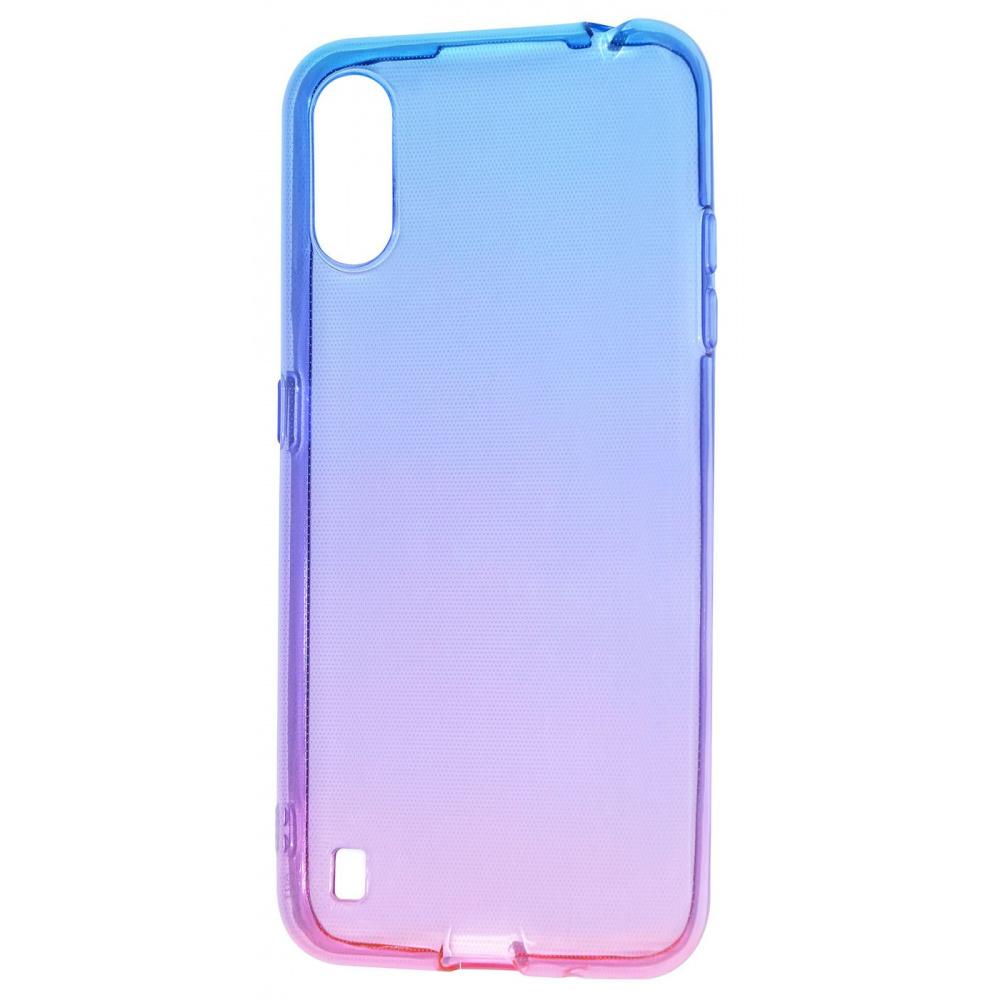 Силикон 0.5 mm Gradient Design Samsung Galaxy A01 (A015F) - фото 9