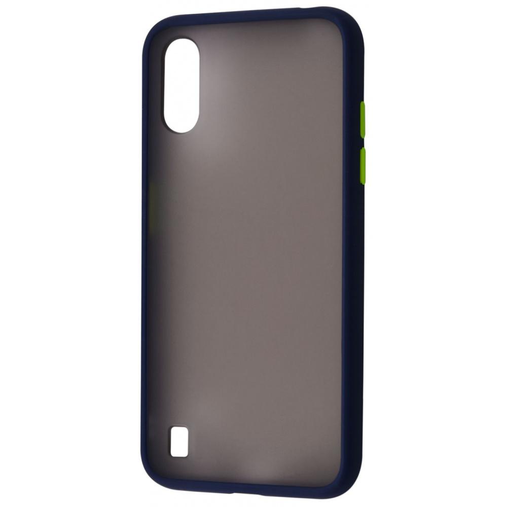 Matte Color Case (TPU) Samsung Galaxy A01 (A015F) - фото 5
