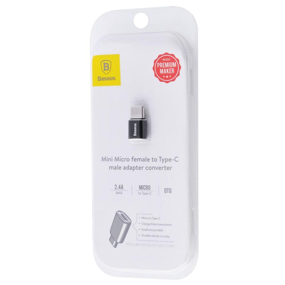 Переходник Baseus Type-C to Micro USB - фото 1