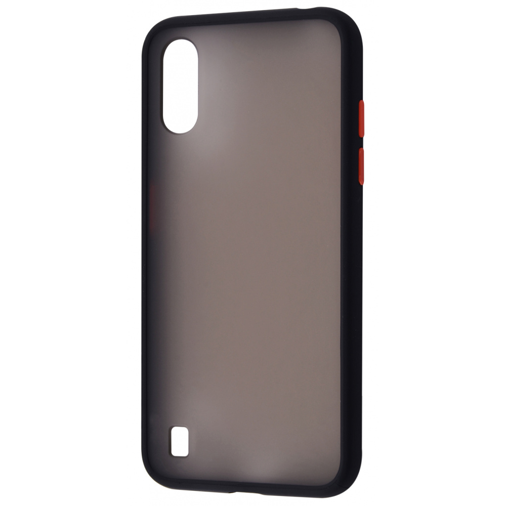 Matte Color Case (TPU) Samsung Galaxy A01 (A015F) - фото 6
