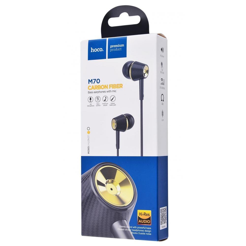 Наушники Hoco M70 Graceful Universal With Microphone - фото 1