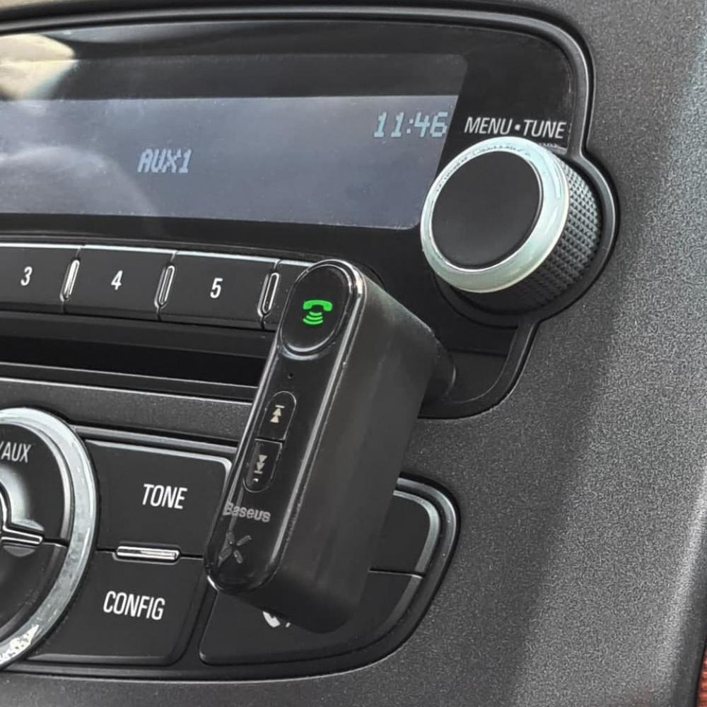 Адаптер AUX Baseus Qiyin Car Bluetooth Receiver - фото 6
