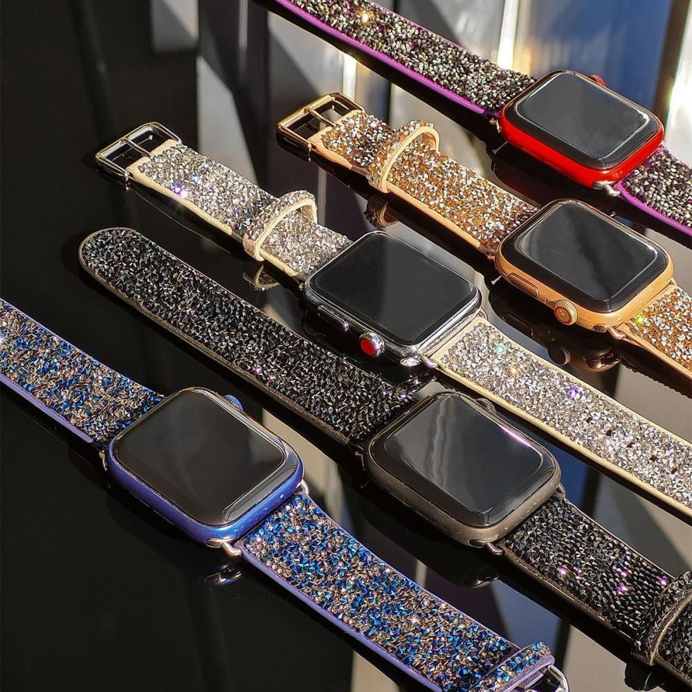 Ремешок Apple Watch Bling World Grainy Diamonds 38 mm/40 mm - фото 2