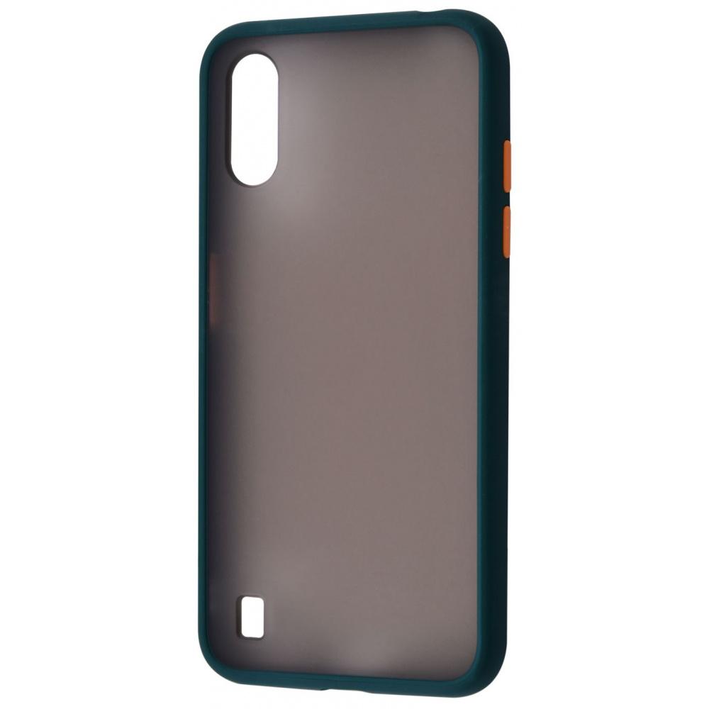 Matte Color Case (TPU) Samsung Galaxy A01 (A015F) - фото 3