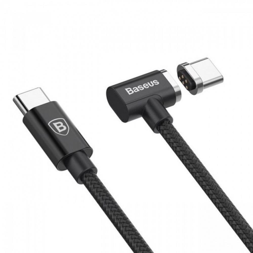 Кабель Baseus Magnet Type-C For Charge MacBook 86W 4.3A (1.5m) - фото 4