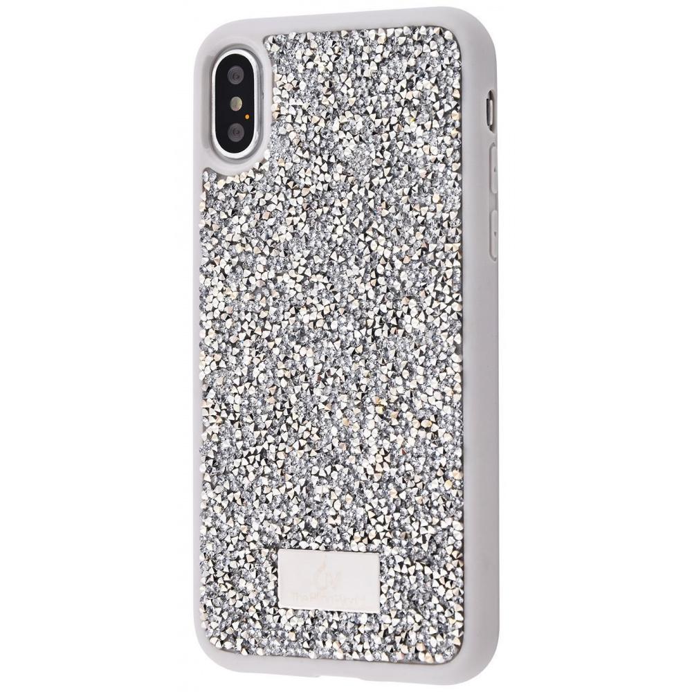 Bling World Grainy Diamonds (TPU) iPhone X/Xs - фото 7
