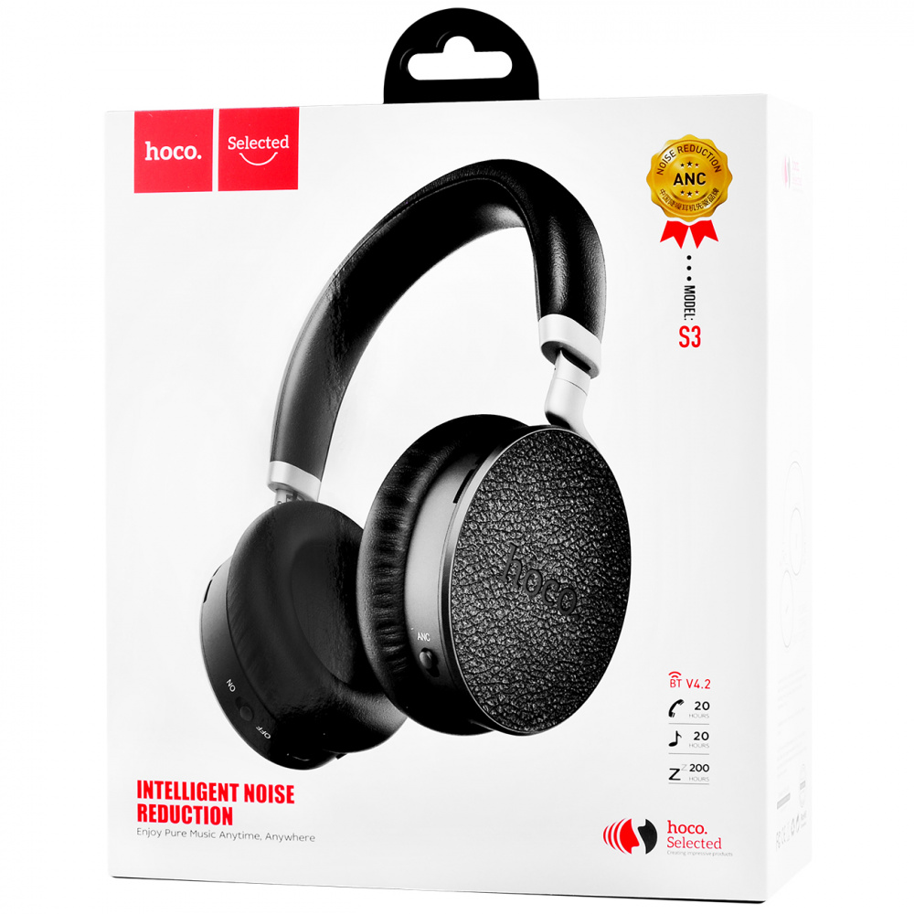 Наушники Hoco S3 Nature Sound Active Noise Control Bluetooth - фото 1