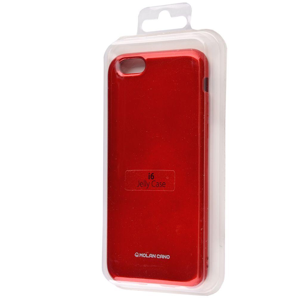 Molan Cano Glossy Jelly Case iPhone 6/6s - фото 1