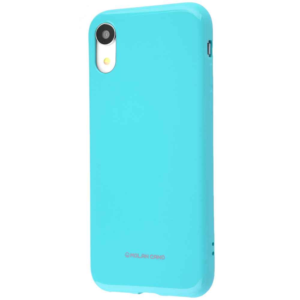 Molan Cano Glossy Jelly Case iPhone Xr