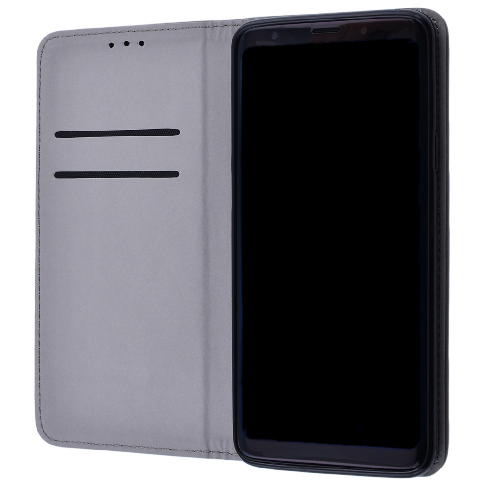 Книжка Black TPU Magnet Samsung Galaxy S9 Plus (G965) - фото 1