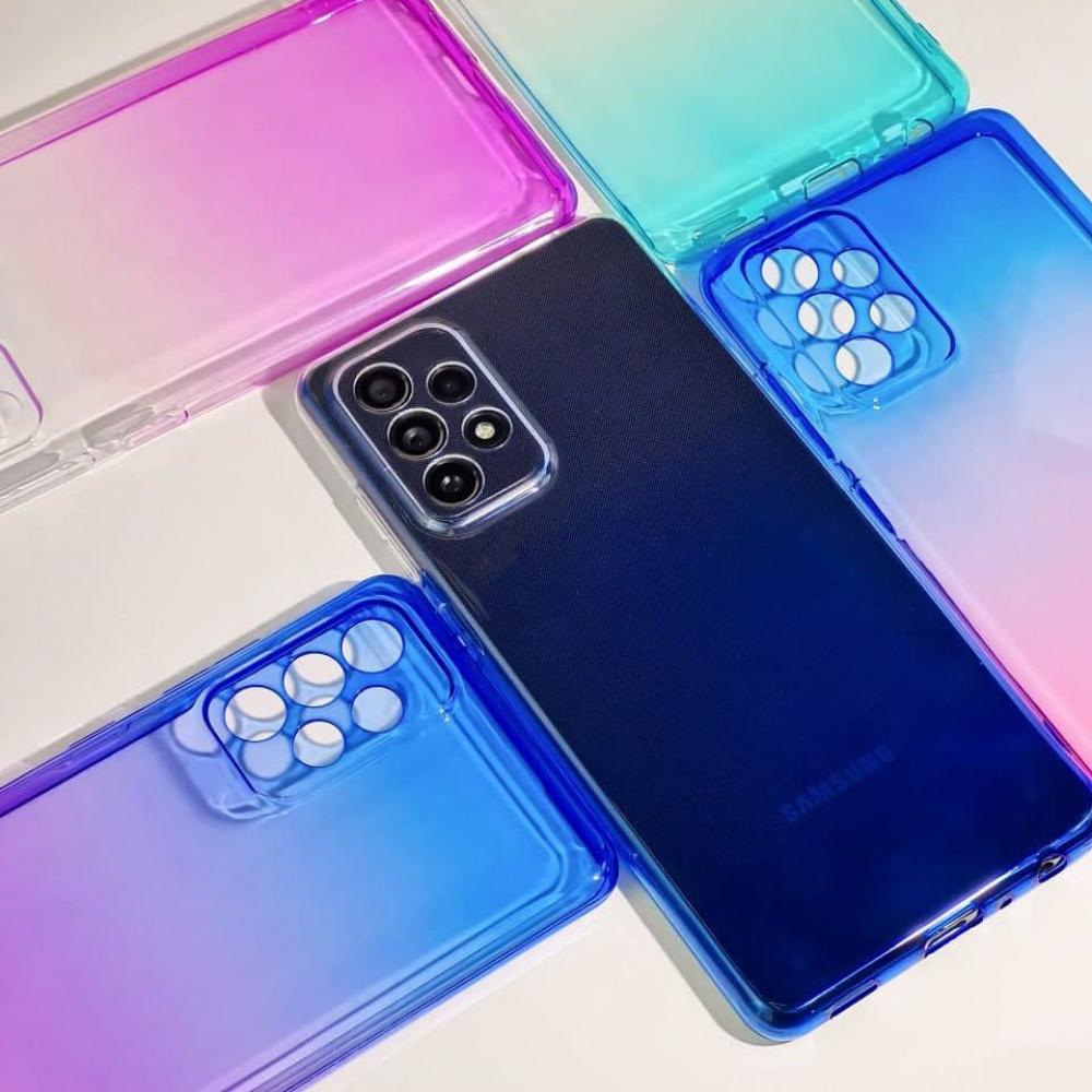 Силикон 0.5 mm Gradient Design Samsung Galaxy A01 (A015F) - фото 3