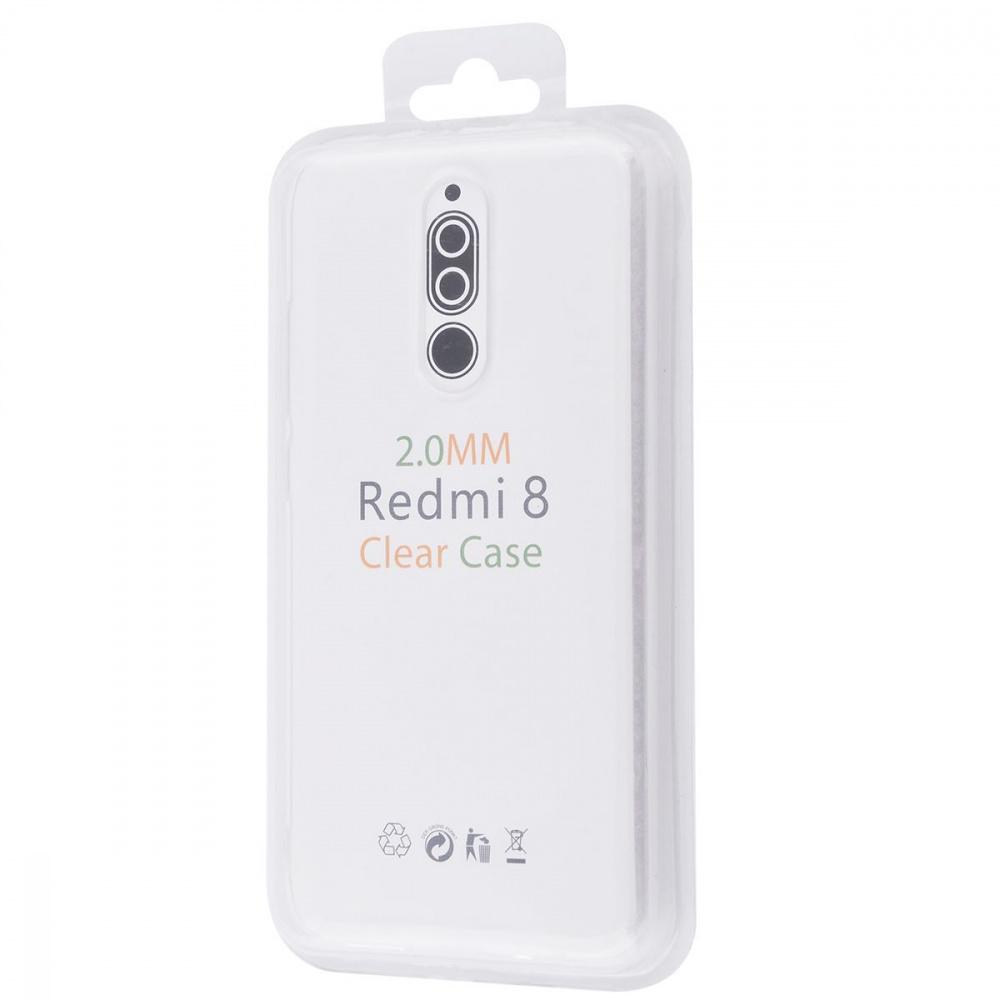 Silicone Clear Case 2.0 mm (TPU) Xiaomi Redmi 8 - фото 1