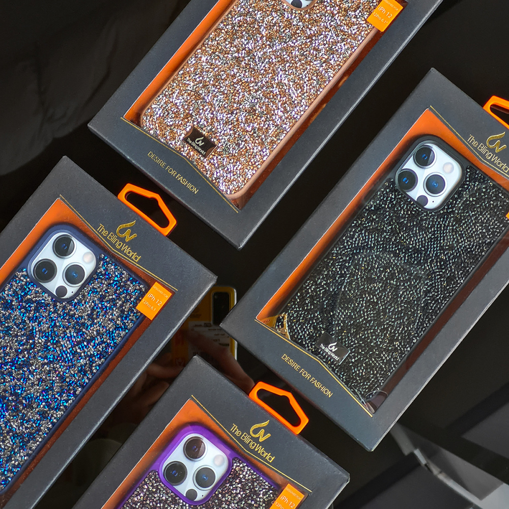 Bling World Grainy Diamonds (TPU) iPhone Xr - фото 2