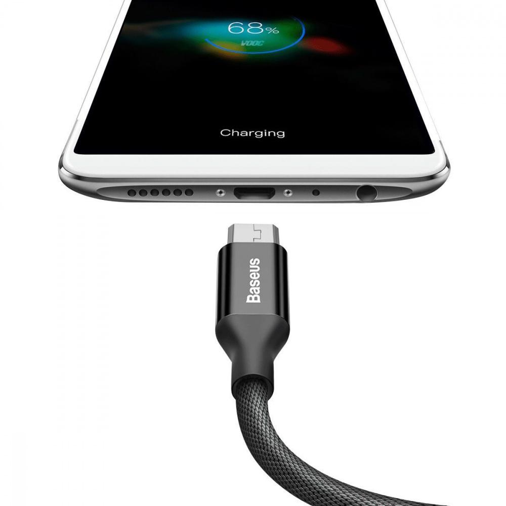 Кабель Baseus Yiven Micro USB 2.0A (1m) - фото 2