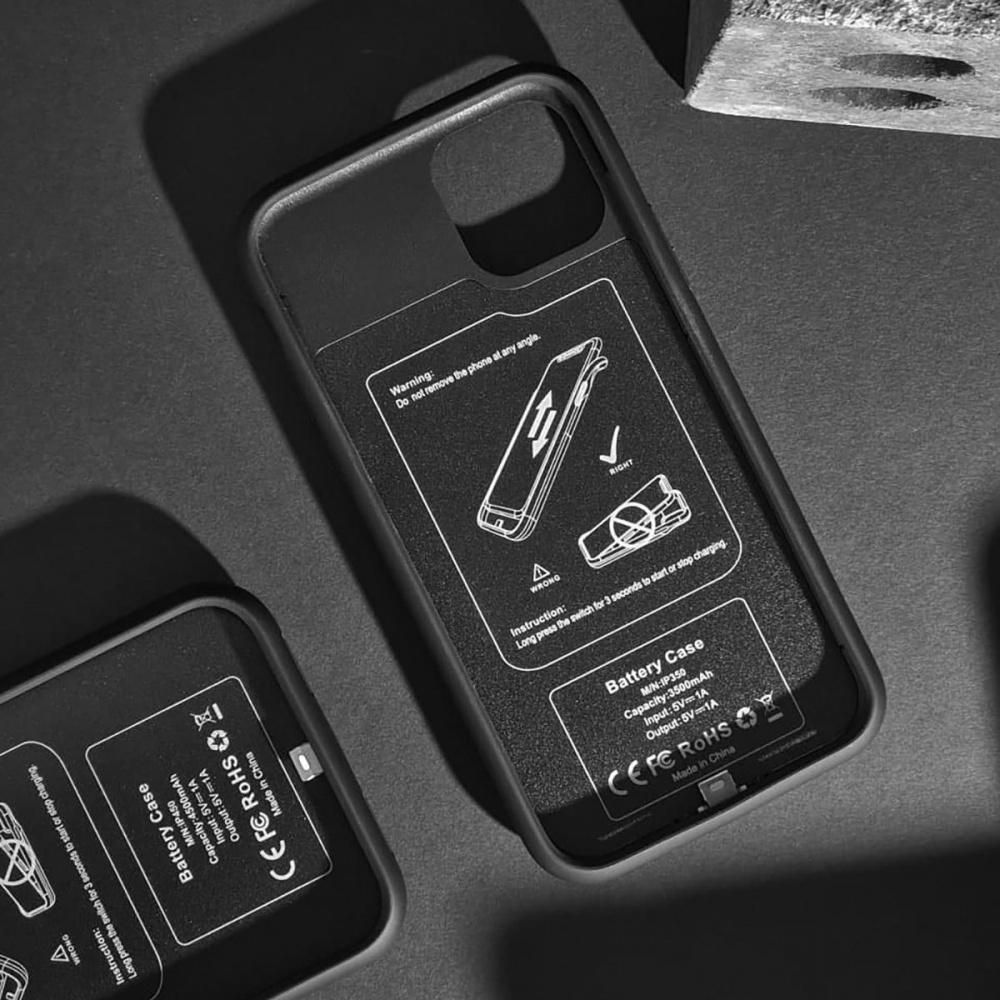 Чехол Аккумулятор 4000 mAh iPhone Xs Max - фото 4