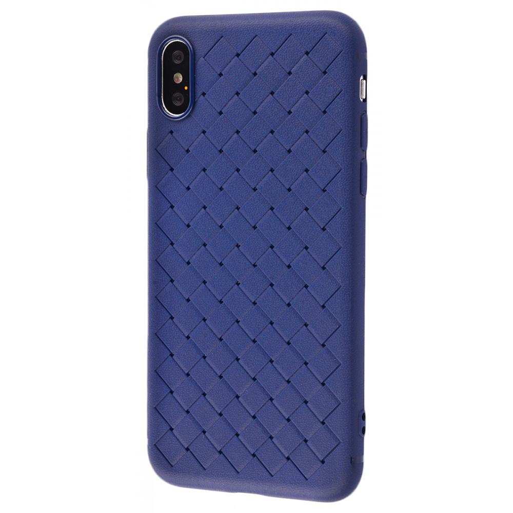 Weaving Full Case (TPU) iPhone X/Xs - фото 2
