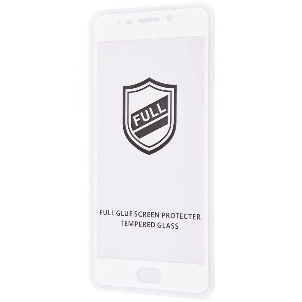 Защитное стекло Full Glue HQ Meizu M6 Note без упаковки