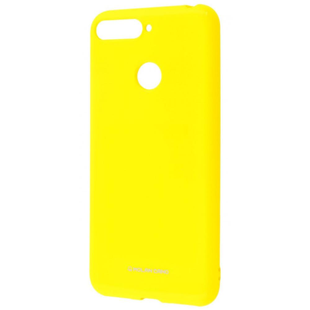 Molan Cano Glossy Jelly Case Huawei Y6 Prime 2018/7A Pro/7C/Enjoy 8e