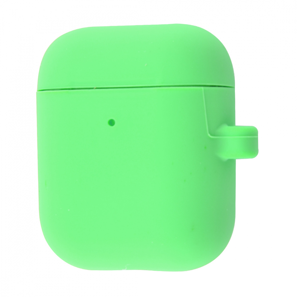 Silicone Case Slim with Carbine for AirPods 2 - фото 24