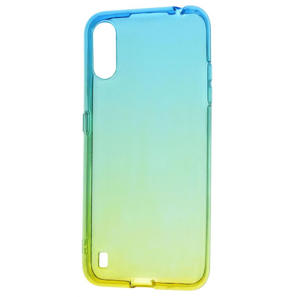 Силикон 0.5 mm Gradient Design Samsung Galaxy A01 (A015F) - фото 10